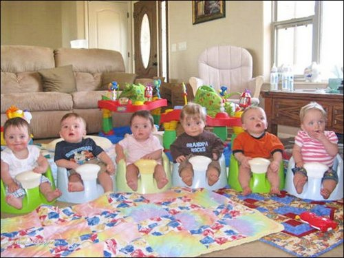 sextuplets7 Amazing Six offspring image gallery
