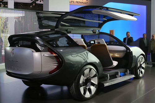 Most Beautiful and strange cars at Paris Motor Show – part 5 [Fwd by  Rabih Moussa ]