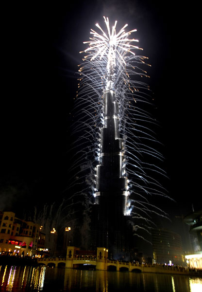 burj khalifa 828 mt 111 The Opening Ceremony of the Burj Khalifa Tower image gallery