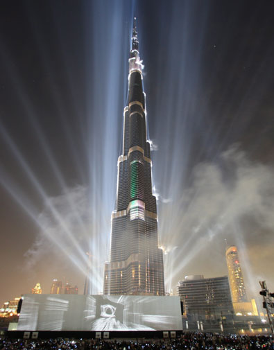 burj khalifa 828 mt 151 The Opening Ceremony of the Burj Khalifa Tower image gallery