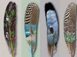 How long it takes to paint a feather? (Fwd by Sandeep Mathur)