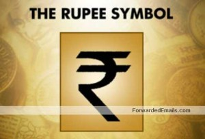 Indian Rupee finally gets its symbol (fwd by Rupesh Thakur)