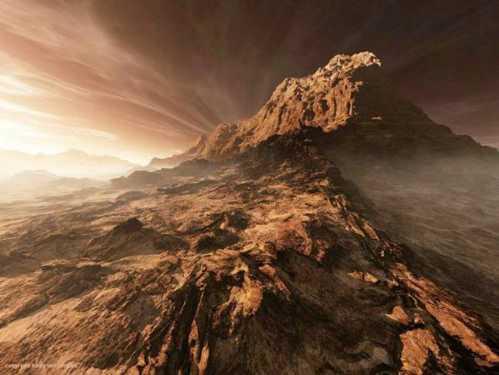 stunning planet mars 1
