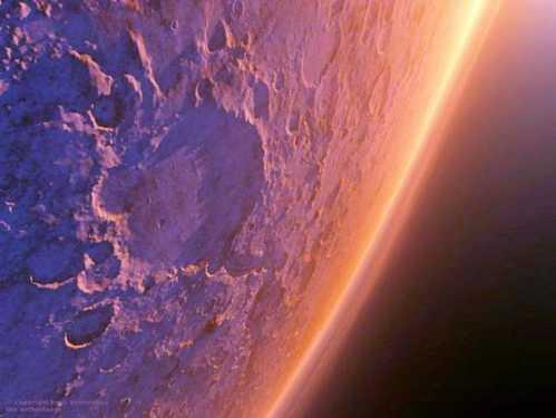stunning planet mars 15