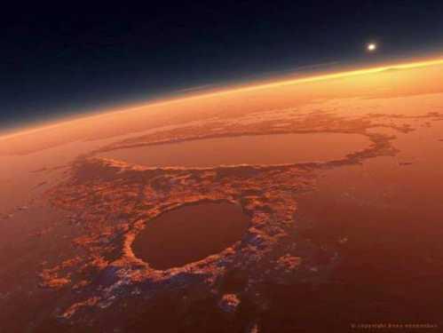 stunning planet mars 9