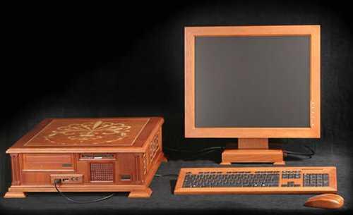 amazing wooden computer 1
