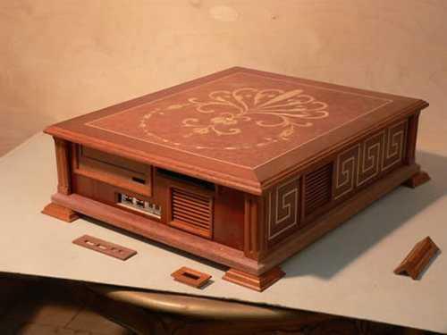 amazing wooden computer 2