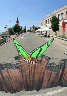 latest 3d street art 3