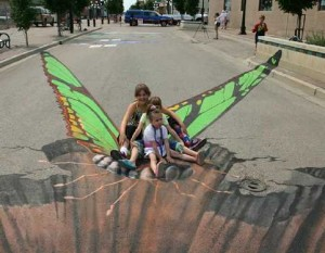 Latest 3D Street Art! [Fwd: Percy Dsouza]
