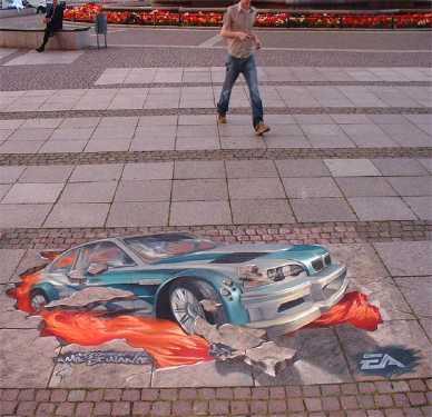 latest 3d street art 8