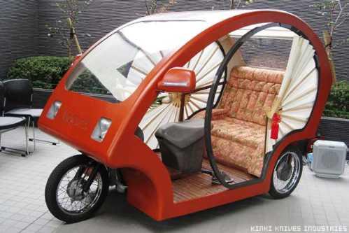 electronic japanese rickshaw 1