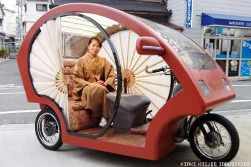 electronic japanese rickshaw 2