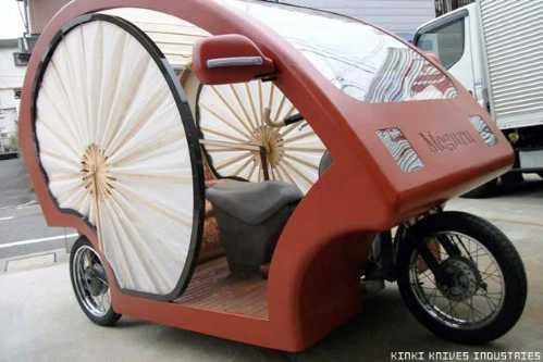 electronic japanese rickshaw 6