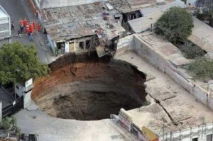 Gigantic Holes on Earth! [Fwd: Chirath Candy]