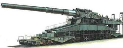 gustav largest gun 1