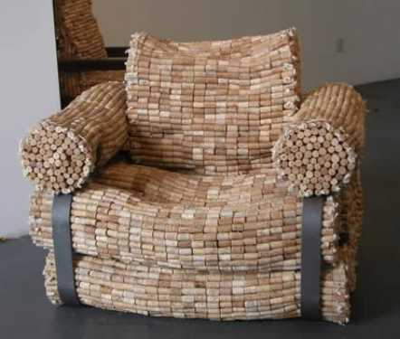 most-unique-furniture-in-the-world-Cork-chair