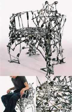 most-unique-furniture-in-the-world-Cutlery-chair