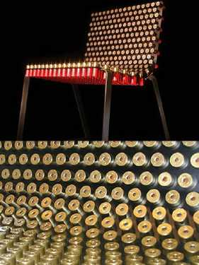 most-unique-furniture-in-the-world-Shotgun-Shells-Chair