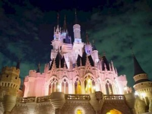 Day and Night of Walt Disney World Castle [Fwd: Chirath Candy]