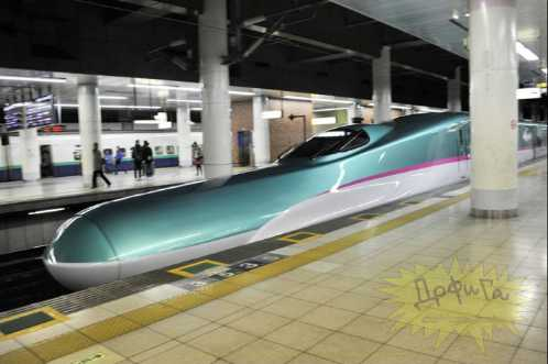 latest japanese train 10