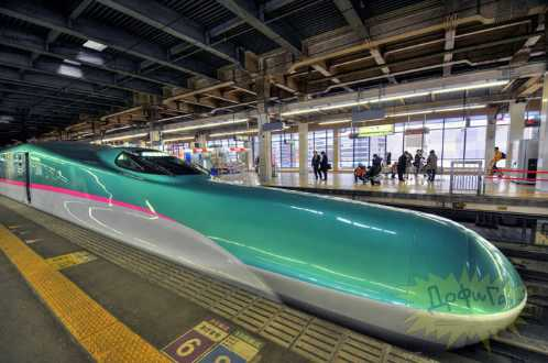 latest japanese train 7