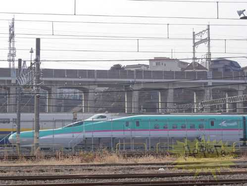 latest japanese train 8