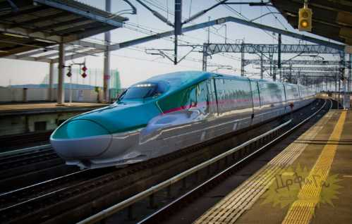 latest japanese train 9