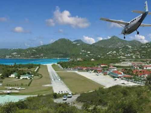 most-dangerous-airports-Gustaf-III-Airport-St-Bart