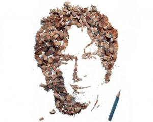 Pencil Shavings Portraits….[Fwd: Mr/Mrs Rajkumar]