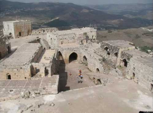 top10 beautiful buildings cracdes chivalaries syria 02