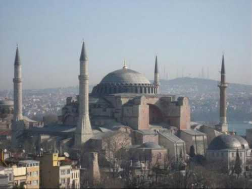 top10 beautiful buildings hagia sophia turkey 01