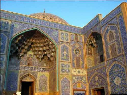 top10 beautiful buildings imam mosque iran 03