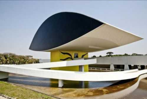 top10 beautiful buildings Museu Oscar Niemeyer Brazil