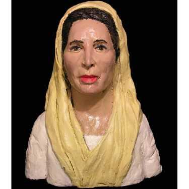 benazir-bhutto plasticine