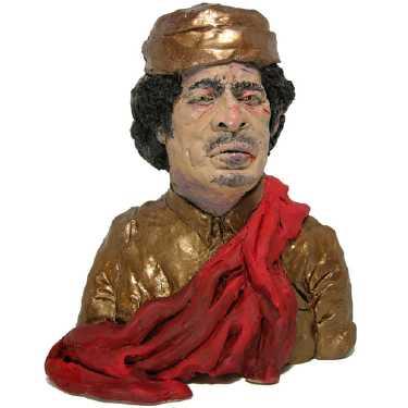 plasticine-gaddafi plasticine