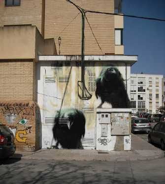 realistic street art mesa 12