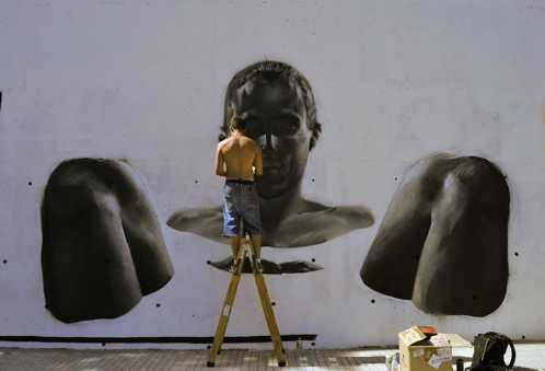 realistic street art mesa 4