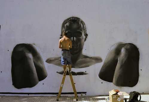 realistic street art mesa 4