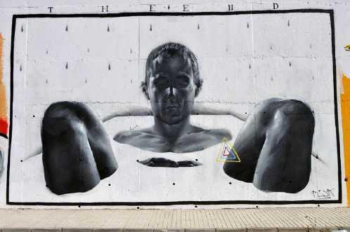 realistic street art mesa 5