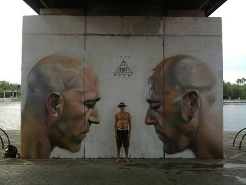 realistic street art mesa 6