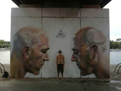 realistic street art mesa 6