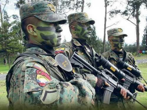 world soldiers ecuador