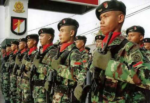 world soldiers indonesia