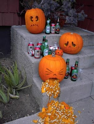 alcohol pumpkin