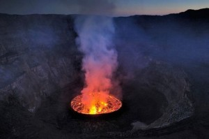 Lava Lake At The Nyiragongo Volcano [Fwd: Sharon Rajkumar]