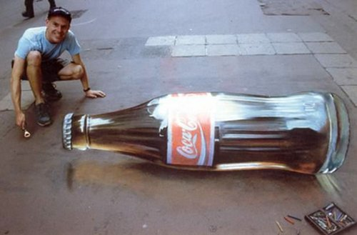 3d chalk art 1