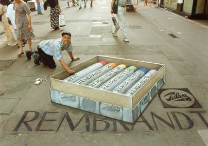 3d chalk art 10