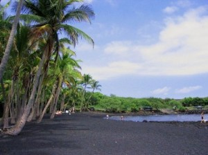 Amazing Punalu Black Sand Beach [Fwd: Sharon Rajkumar]