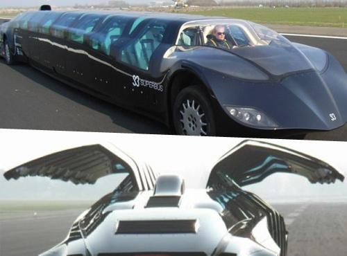 futuristic limo 1