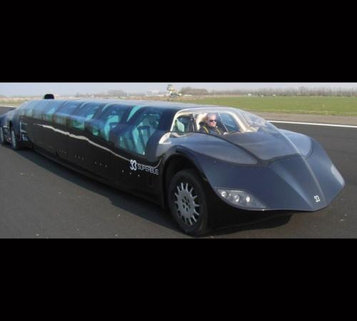 futuristic limo 15
